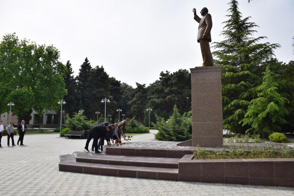 Парк Гейдара Алиева в Нафталане