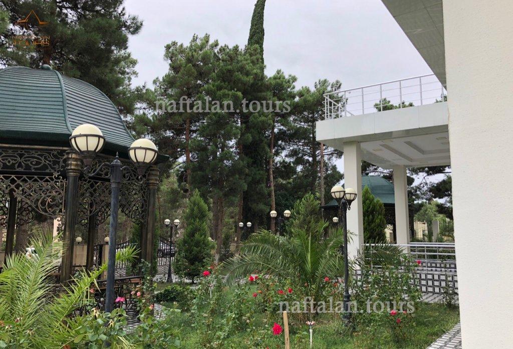 Санаторий Кяпаз - Нафталан